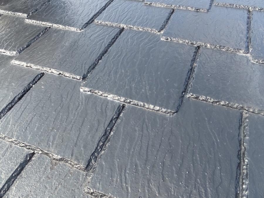スレート屋根の雨漏れ