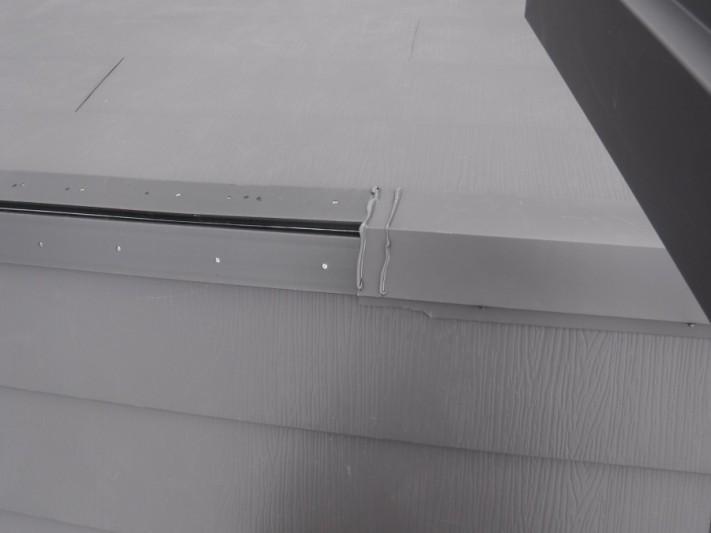 スーパーガルテクトフッ素 重ね葺き工事