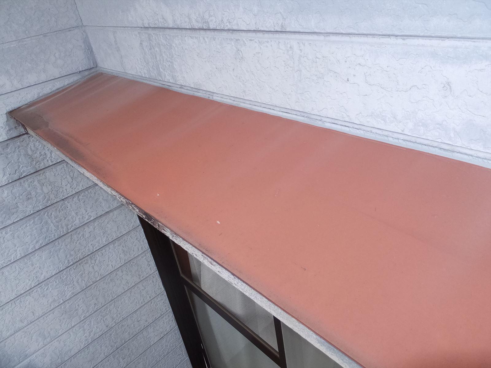 庇の塗装の必要性