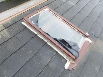 化粧スレート 切妻屋根