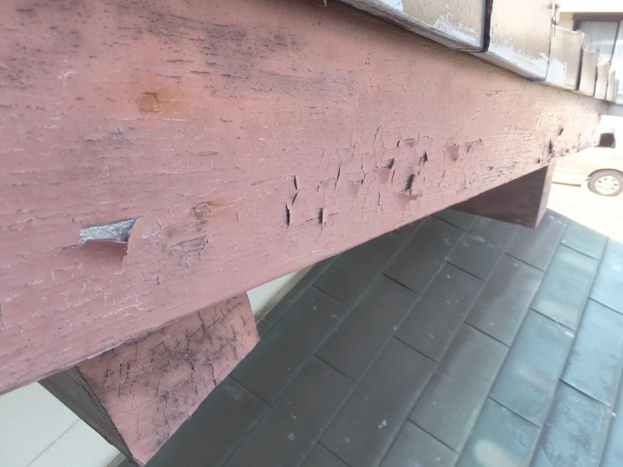 名古屋市南区で破風板を板金でカバーしてメンテナンスを楽にしました