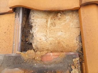 屋根 陶器瓦 土葺き