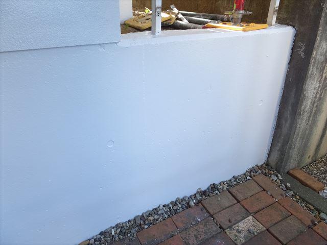 基礎 外塀 塗装