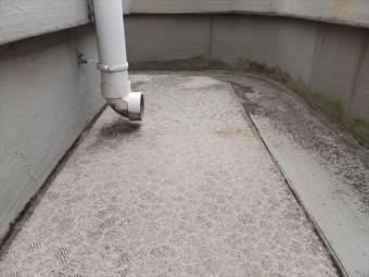 バルコニー防水 ウレタン防水 長尺シート