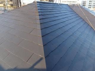 屋根スレート塗装工事