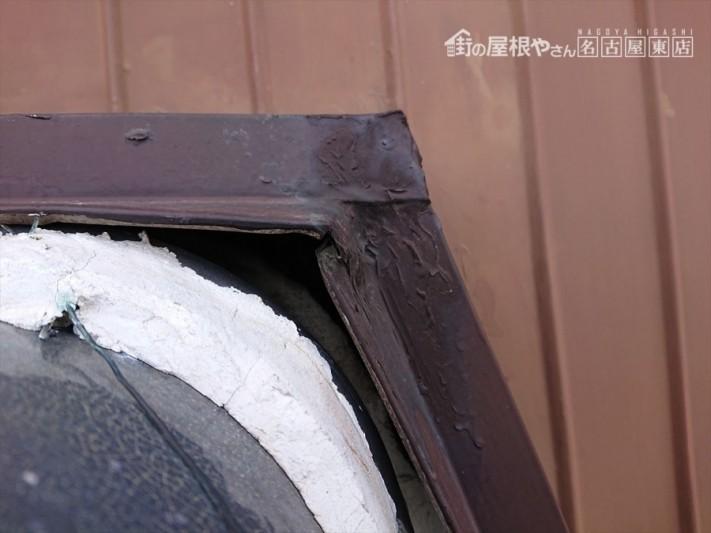 屋根瓦 漆喰の劣化