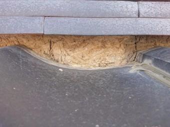 屋根 漆喰工事