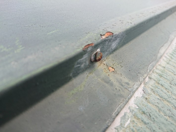 スレート屋根 雨漏り原因