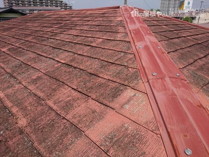 スレート屋根のメンテナンス