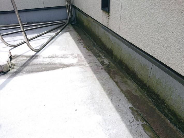 ベランダ防水の劣化