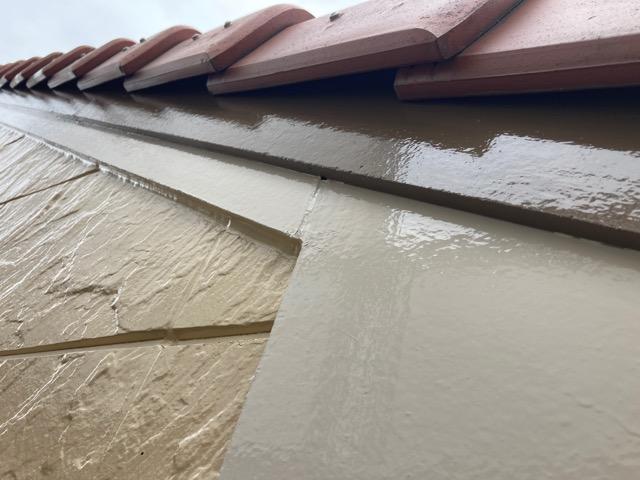 破風板の塗装 施工後