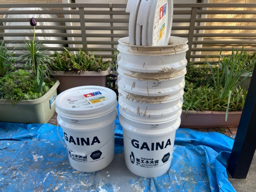外壁塗装 使用材料 GAINA