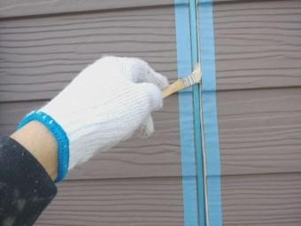ラップサイディング調外壁 シーリング工事