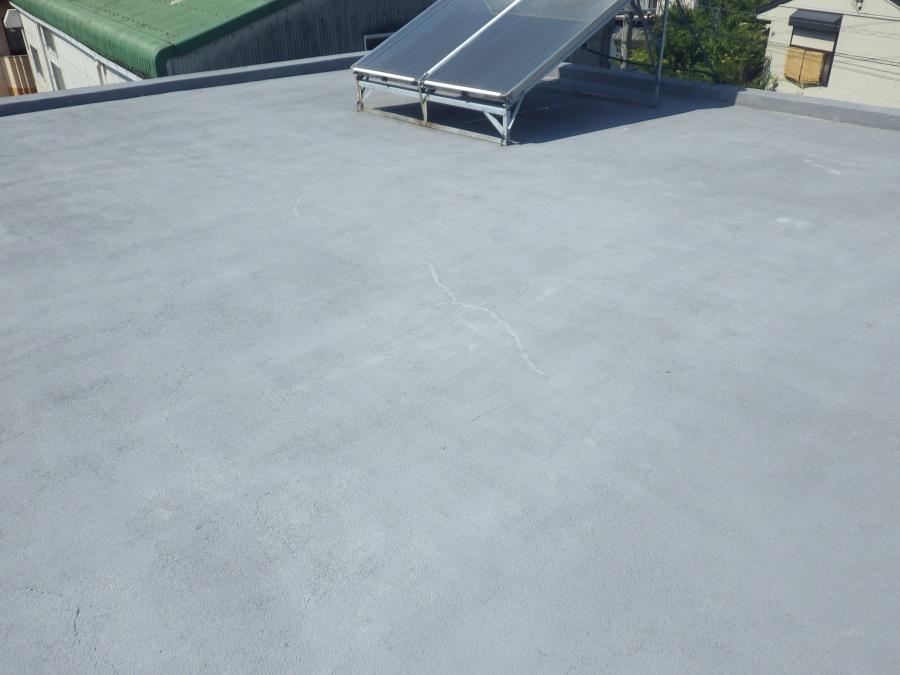 陸屋根防水雨漏れ