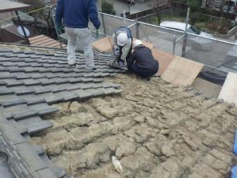 屋根めくり