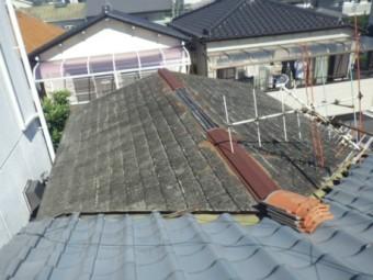 台風被害棟板金