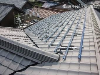 太陽光パネル設置 架台設置