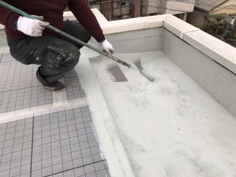 ウレタン防水工事