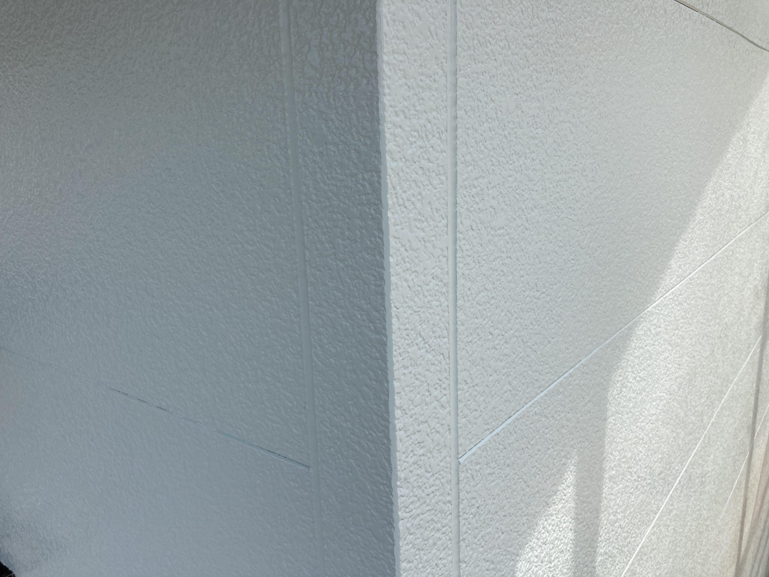 外壁塗装 完了の状態