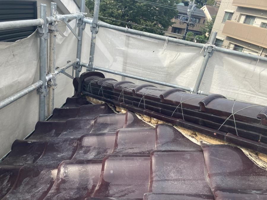 屋根漆喰工事の際に古い漆喰を撤去するのは何故?名古屋市緑区