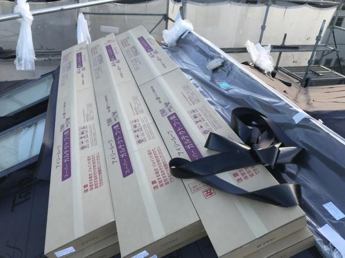 カバー工法 金属屋根