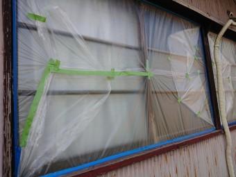 波トタンの塗装工事