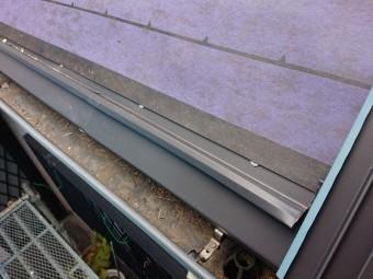 スーパーガルテクトフッ素を使用した屋根カバー工事