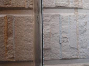 外壁塗装 目地の劣化状況