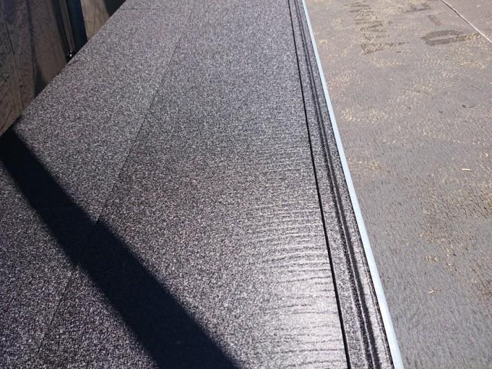 屋根葺き替え工事 スーパーガルテクト