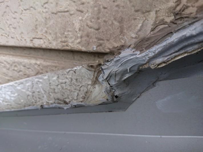 雨漏り補修工事 板金工事
