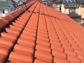 瓦屋根の定期点検