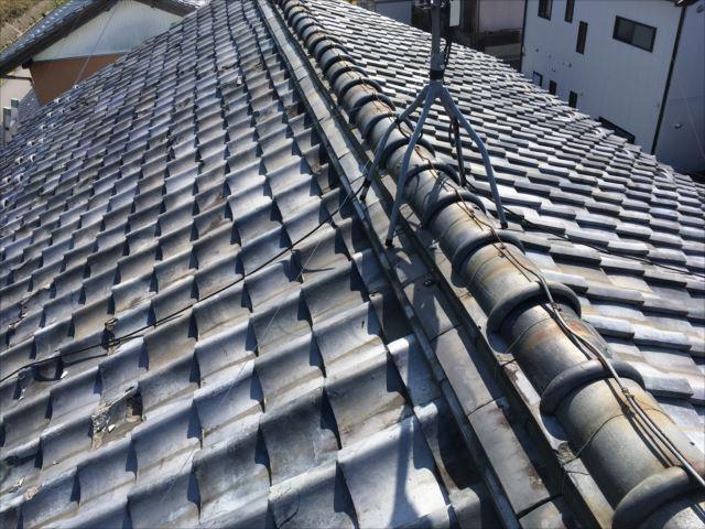 瓦屋根 葺き替え工事
