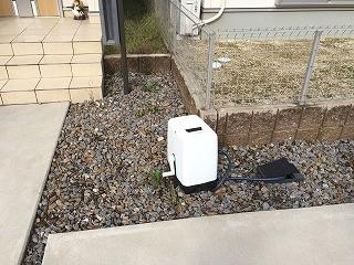 現地調査庭散水栓