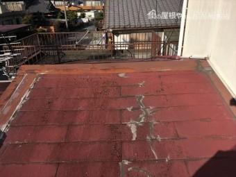 スレート 屋根点検 重ね葺き 板金屋根