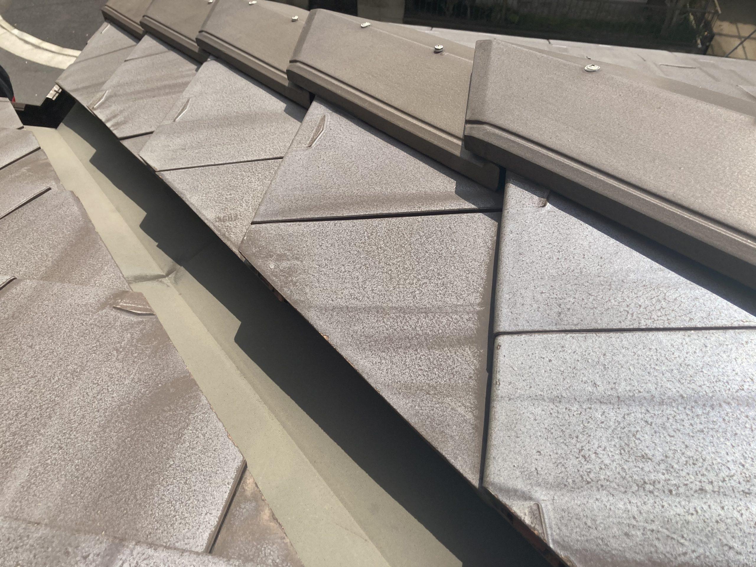 平板瓦 屋根点検