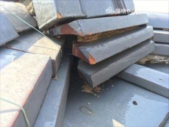屋根の調査 瓦の不具合
