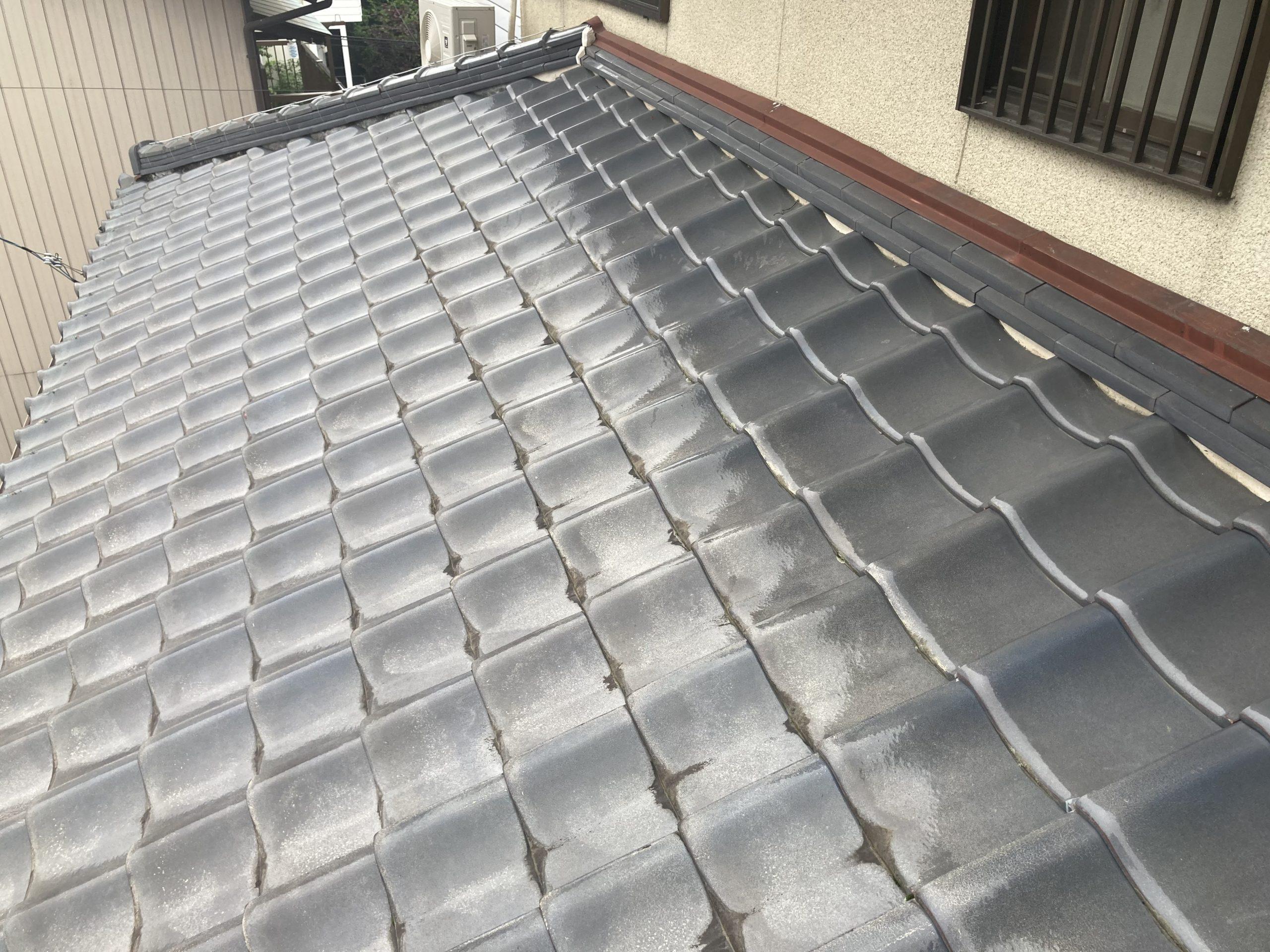 屋根点検 下屋根