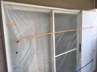 外壁塗装工事 養生