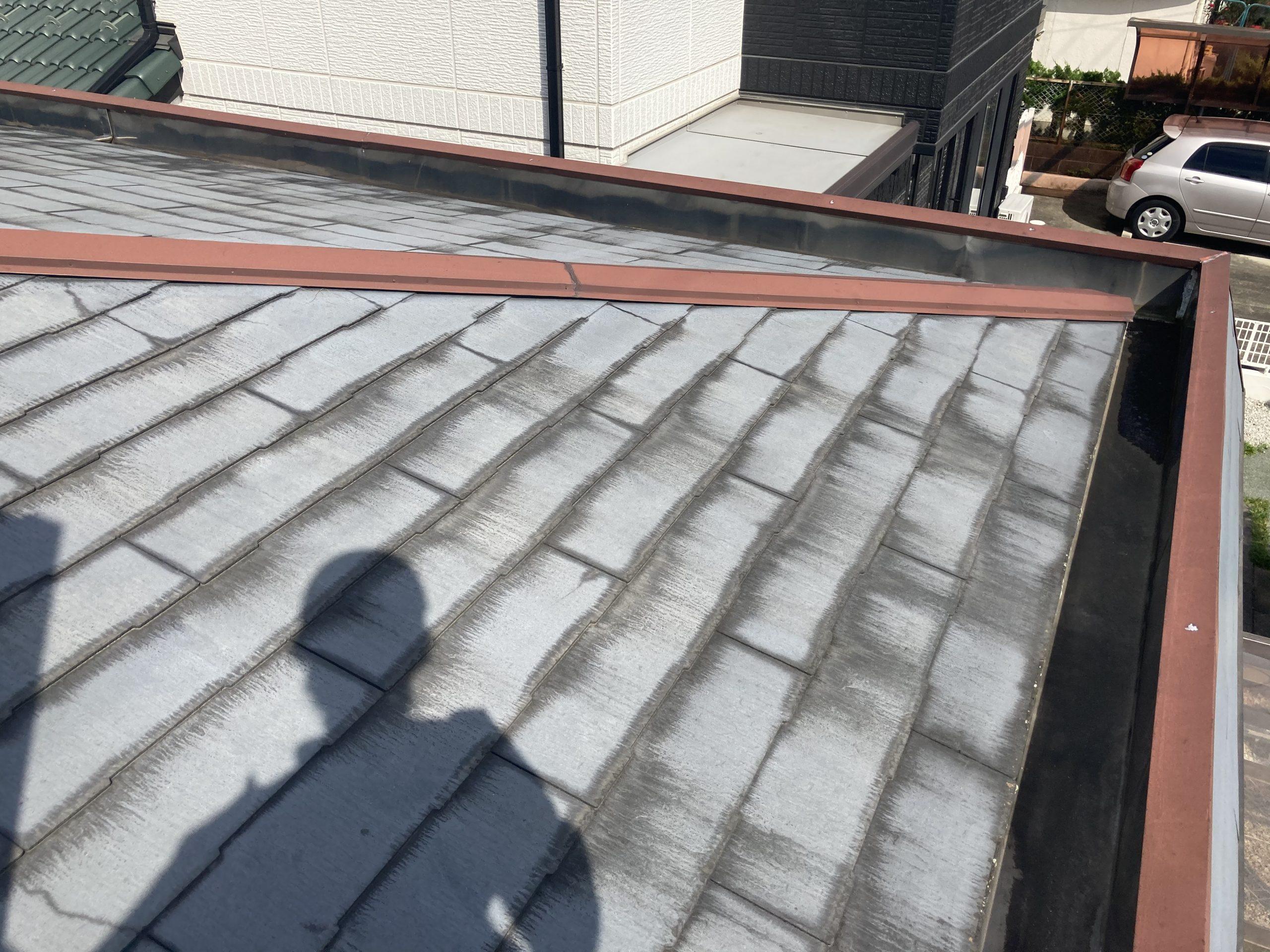 名古屋市名東区でスレート屋根の点検を行ってきました