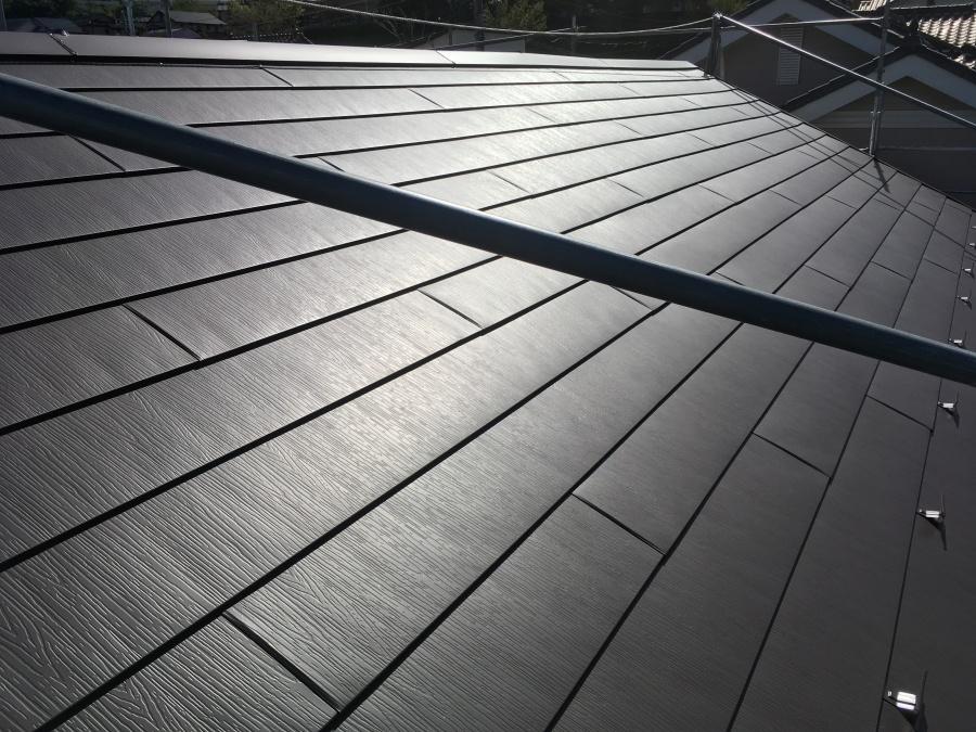 ガルバリウム鋼板 屋根 日進市