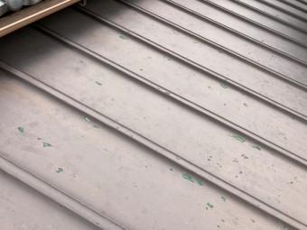 瓦棒屋根の点検
