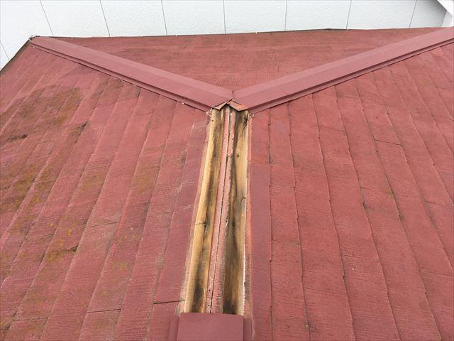 棟板金交換 台風被害