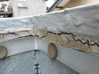 アスファルト防水劣化