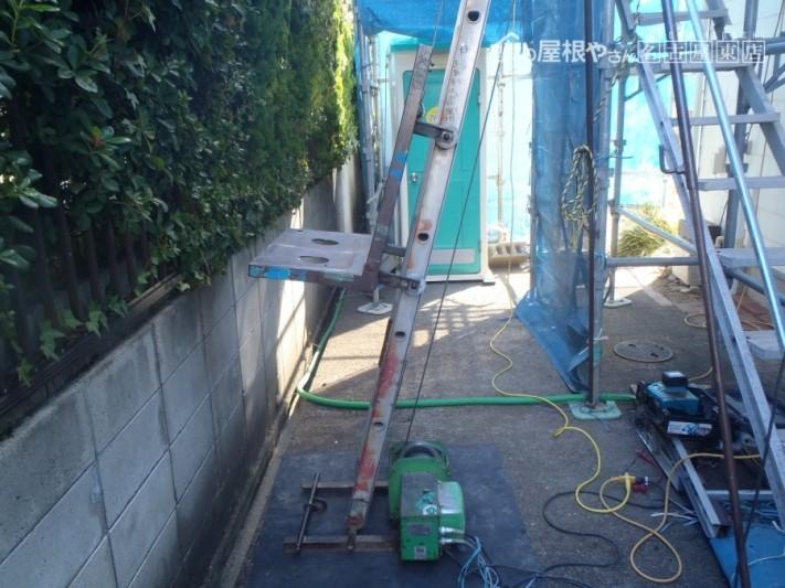 屋根 タワー 設置
