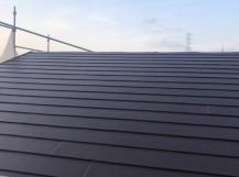 屋根カバー工法 完了