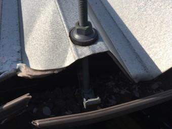 折半屋根破損