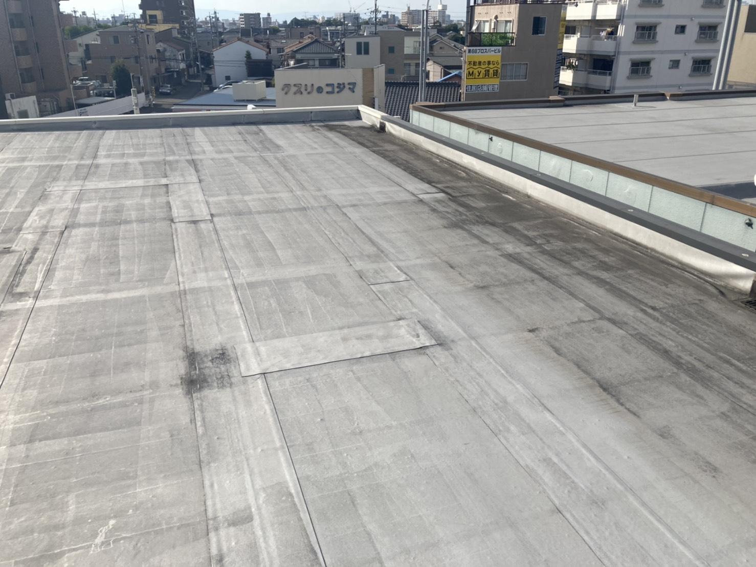 名古屋市南区で屋上防水の点検!雨漏りに直結??