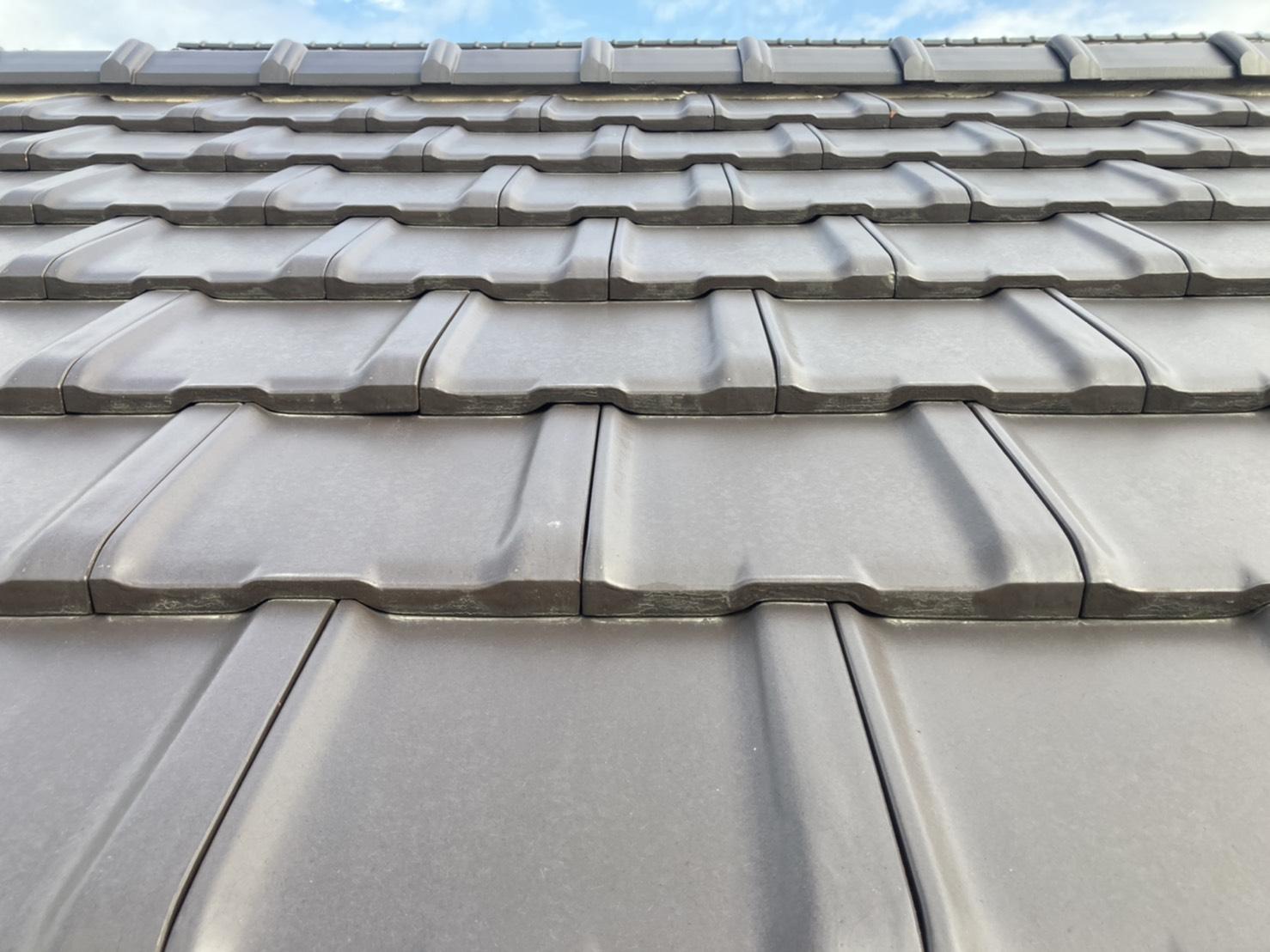 屋根点検 平板瓦