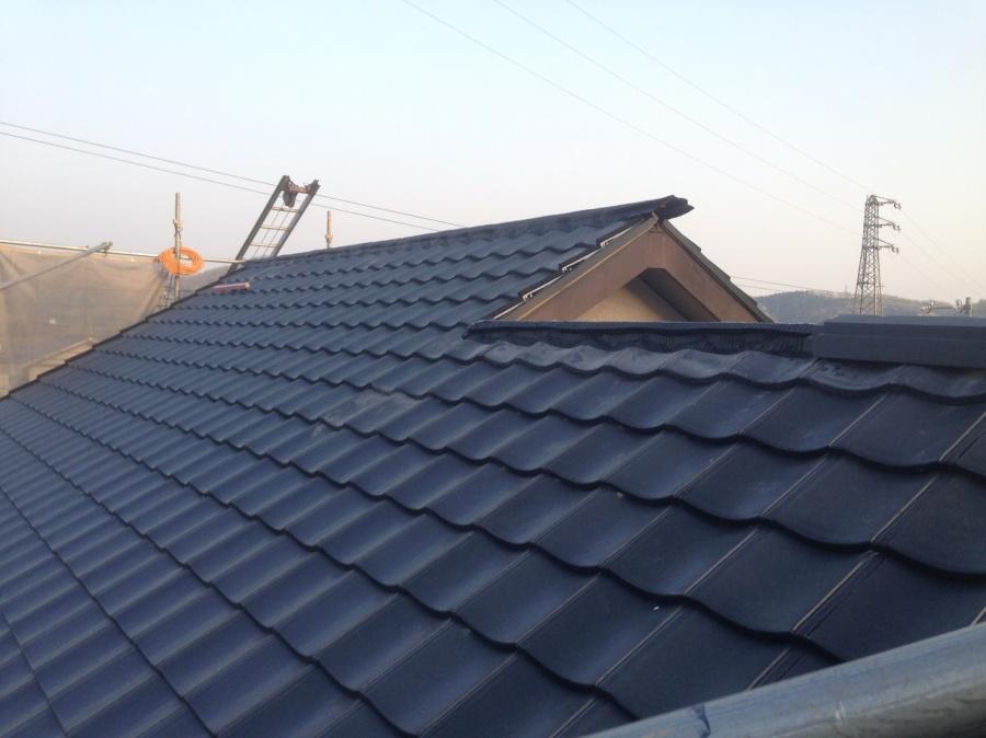 名古屋市名東区でROOGA雅で屋根の葺き替え工事!