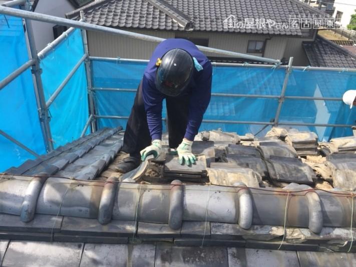 葺き替え工事 日本瓦